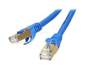 Rosewill RCW 15 CAT7 BL 15 ft. Cat 7 Blue Color Shielded Twisted Pair (S/STP) Networking Cable