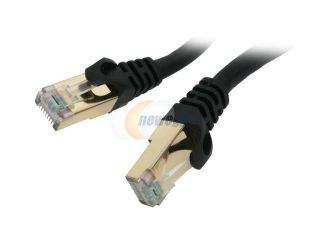 Rosewill RCW 10 CAT7 BK 10 ft. Cat 7 Black Color Shielded Twisted Pair (S/STP) Networking Cable