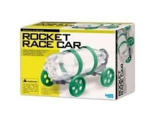 Toysmith Rocket Race CAR Bottle Rocket Blasting Scientific Toy Kit