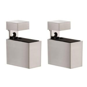 Dolle Cuadro 3/16 in.   3/4 in. Adjustable Shelf Support in Stainless