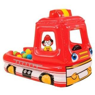 Fisher Price Fun Squirt Fire Truck Toys & Games