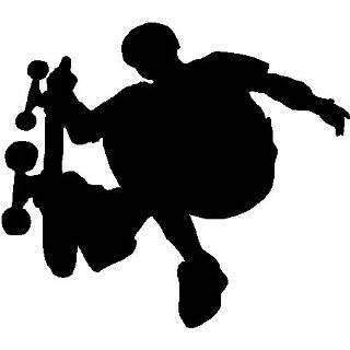 SKATEBOARD BOY 1 WALL STICKERS DECALS DECOR ART