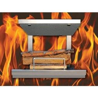 Earth Flame Wood Burning Fireplace Grate, Model# EF36SS